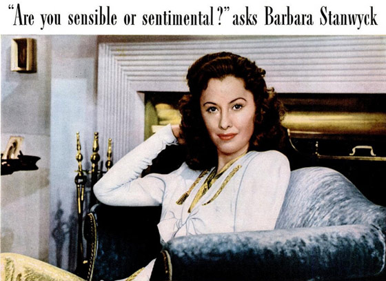 1847 Rogers Bros Barbara Stanwyck