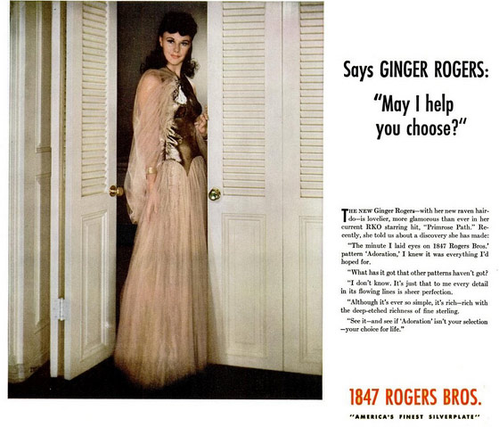 1847 Rogers Bros Ginger Rogers