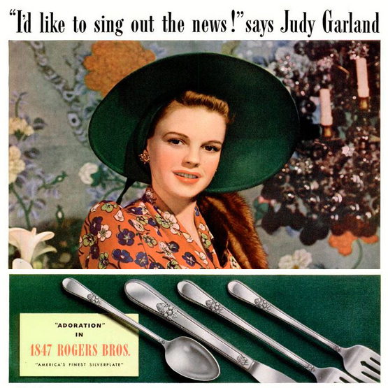 1847 Rogers Bros Judy Garland