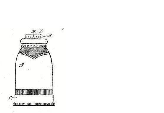A. H. Jones Co. salt pepper dredge