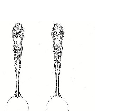 American Silver Co spoons