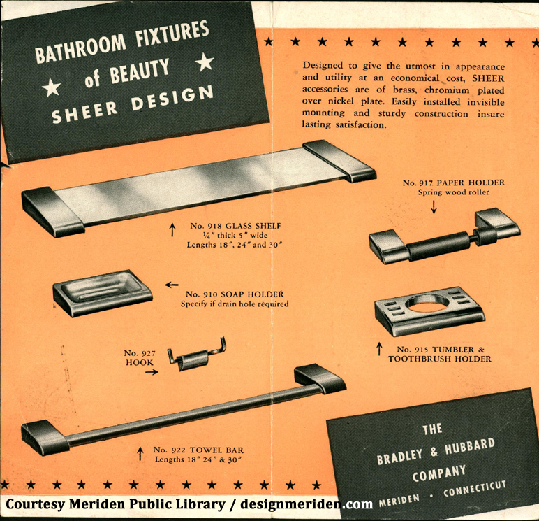 Bradley & Hubbard brochure - bathroom fixtures