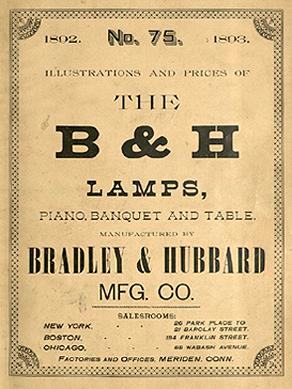 Bradley & Hubbard catalogue