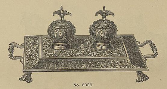 Bradley & Hubbard ink stand
