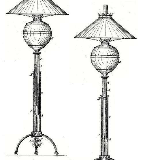 Charles Parker Co. lamp