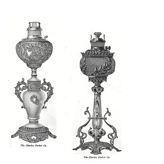 Charles Parker Co. lamps