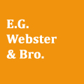 e .g. webster and brother brooklyn