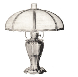 Edward Miller & Co. lamp
