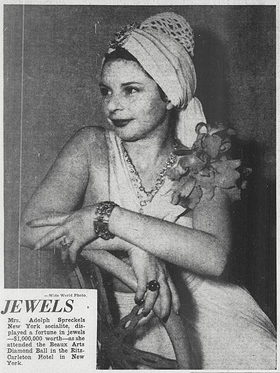 Emily Hall Tremaine diamonds