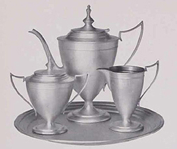 Forbes Silver Plate basket