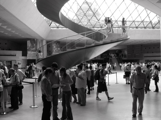 grand louvre paris lobby