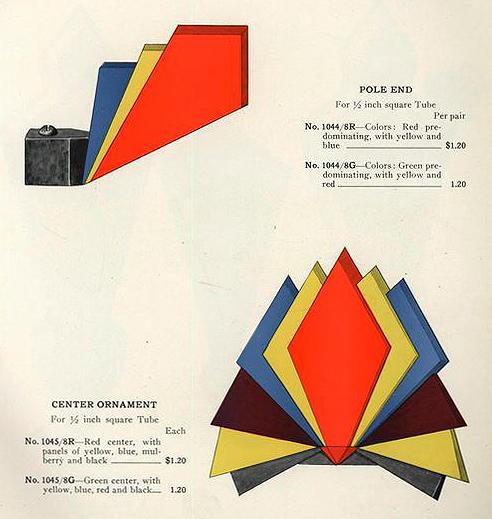 H L Judd Co modern curtain fixture