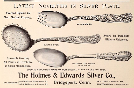 Holmes & Edwards spoons
