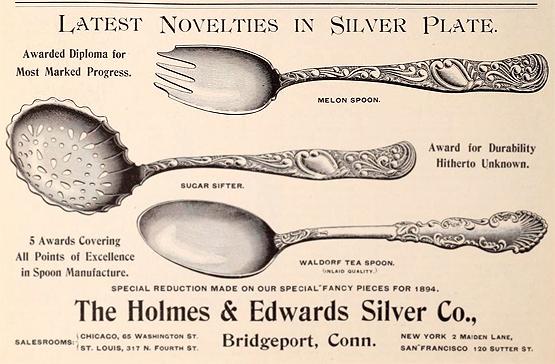 NAPOLEON Holmes /& Edwards International  Silverplate  TOMATO SERVER 1929