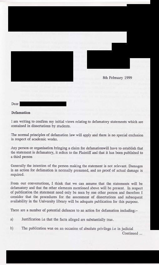 cover letter for university registrar