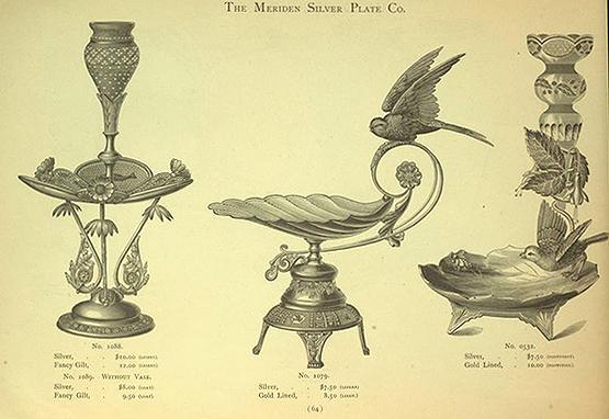 Meriden Silver Plate Co 1883 catalogue