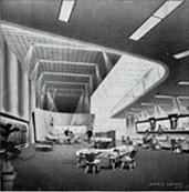Morris Lapidus Miller Company interior design concept