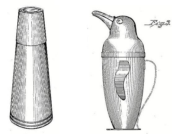 Napier Company cocktail shakers