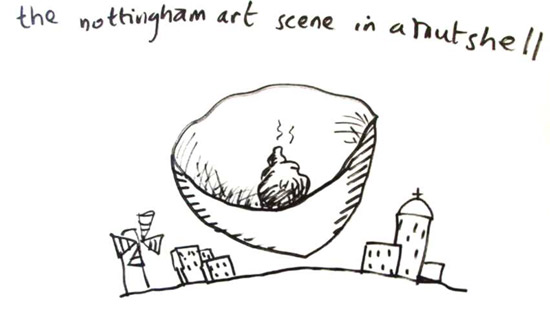 Nottingham art scene