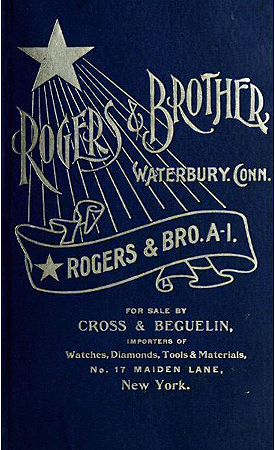 Rogers & Brother design catalogue