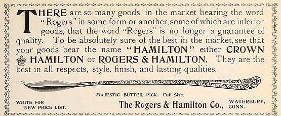 Rogers & Hamilton butter pick