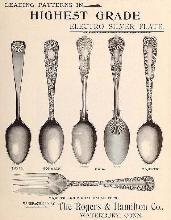 Rogers & Hamilton spoons