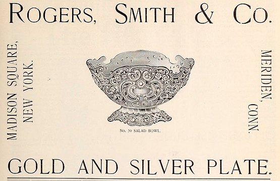 Rogers Smith & Co salad bowl