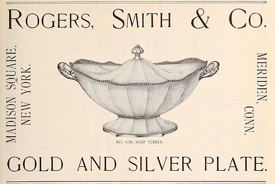 Rogers Smith & Co soup tureen