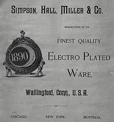 Simpson, Hall, Miller & Co. 1890 catalogue