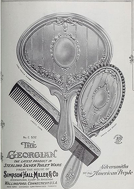 Simpson, Hall, Miller & Co. Georgian pattern