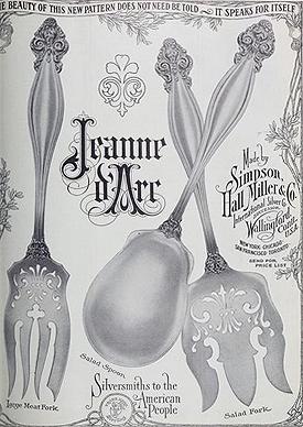 Simpson, Hall, Miller & Co. Jeanne d' Arc