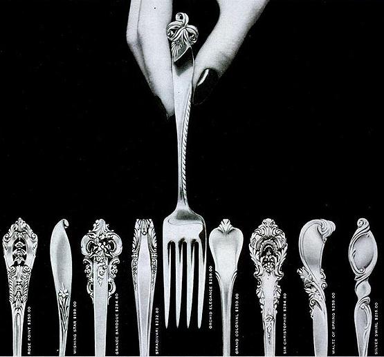 R. Wallace silverware