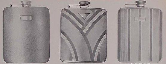 Watrous Manufacturing Co. flasks