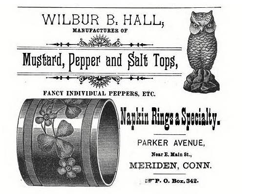 Wilbur B. Hall advertisement