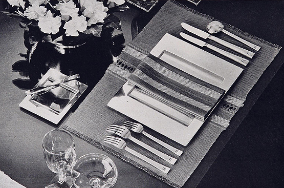 Wilcox & Evertsen table setting