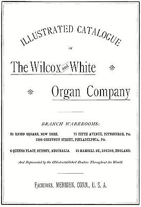 Wilcox & White catalogue